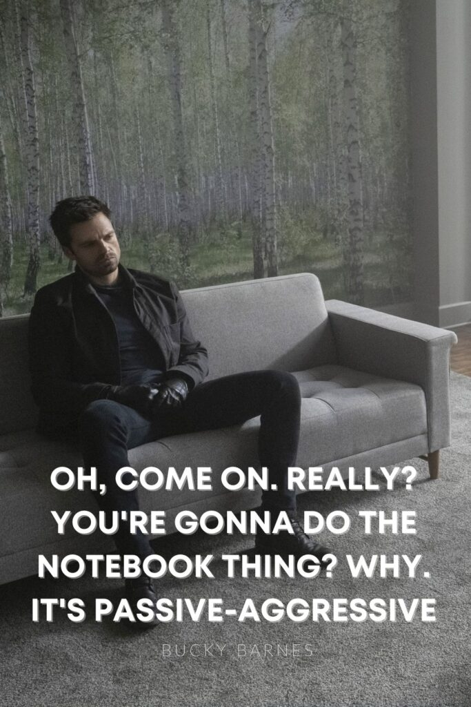 bucky notebook quote