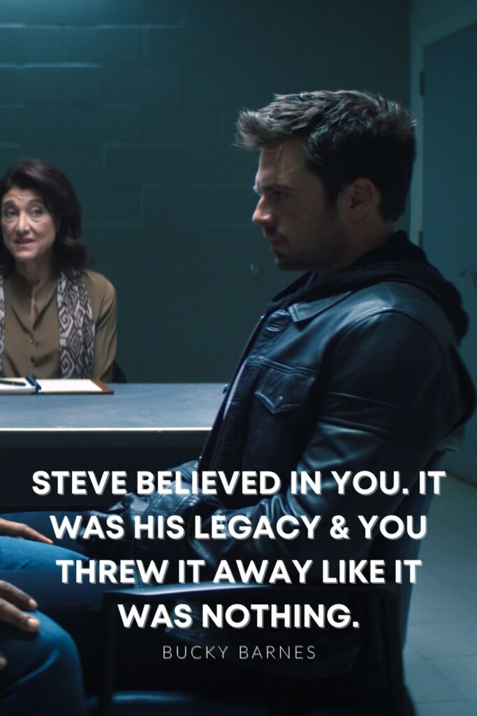bucky steve legacy quote