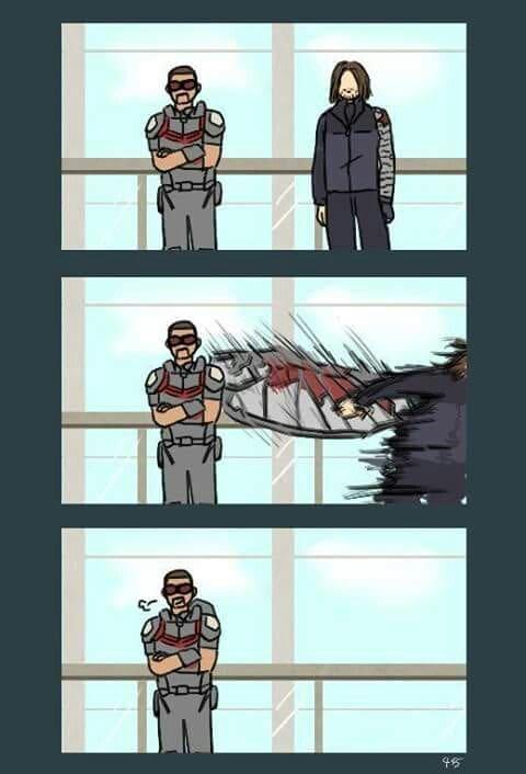 falcon and bucky anime