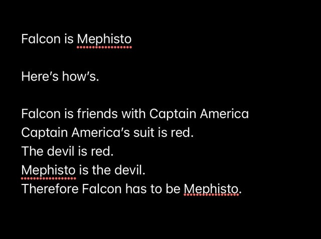 Just can't let go of those WandaVision Mephisto theories