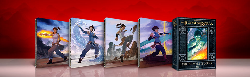 legend of korra steelbook
