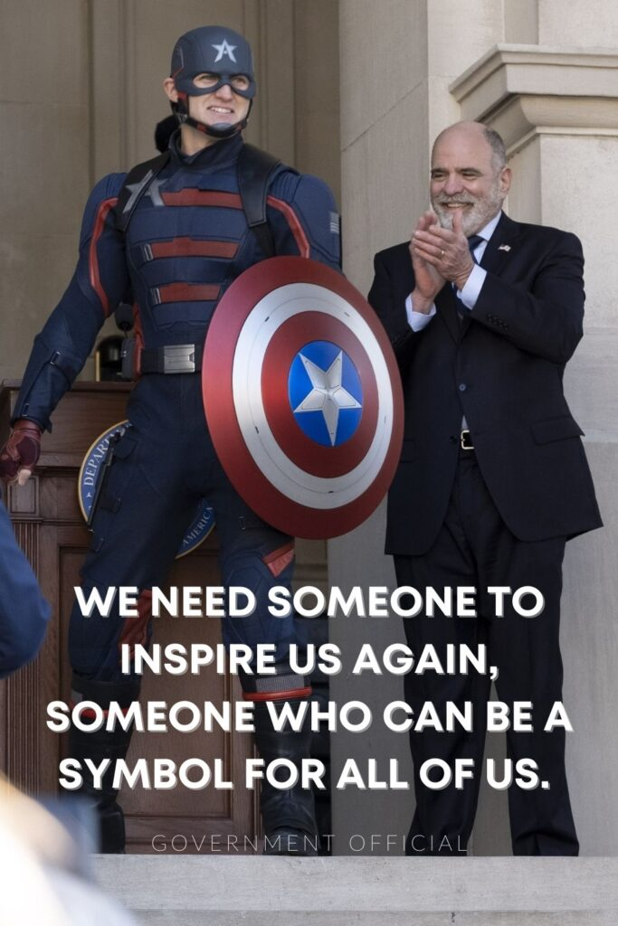 need someone to inspire us falcon and winter soldier quotes