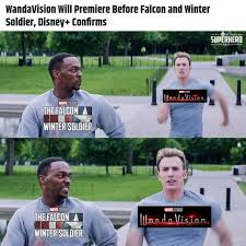 wandavision followed by FATWS
