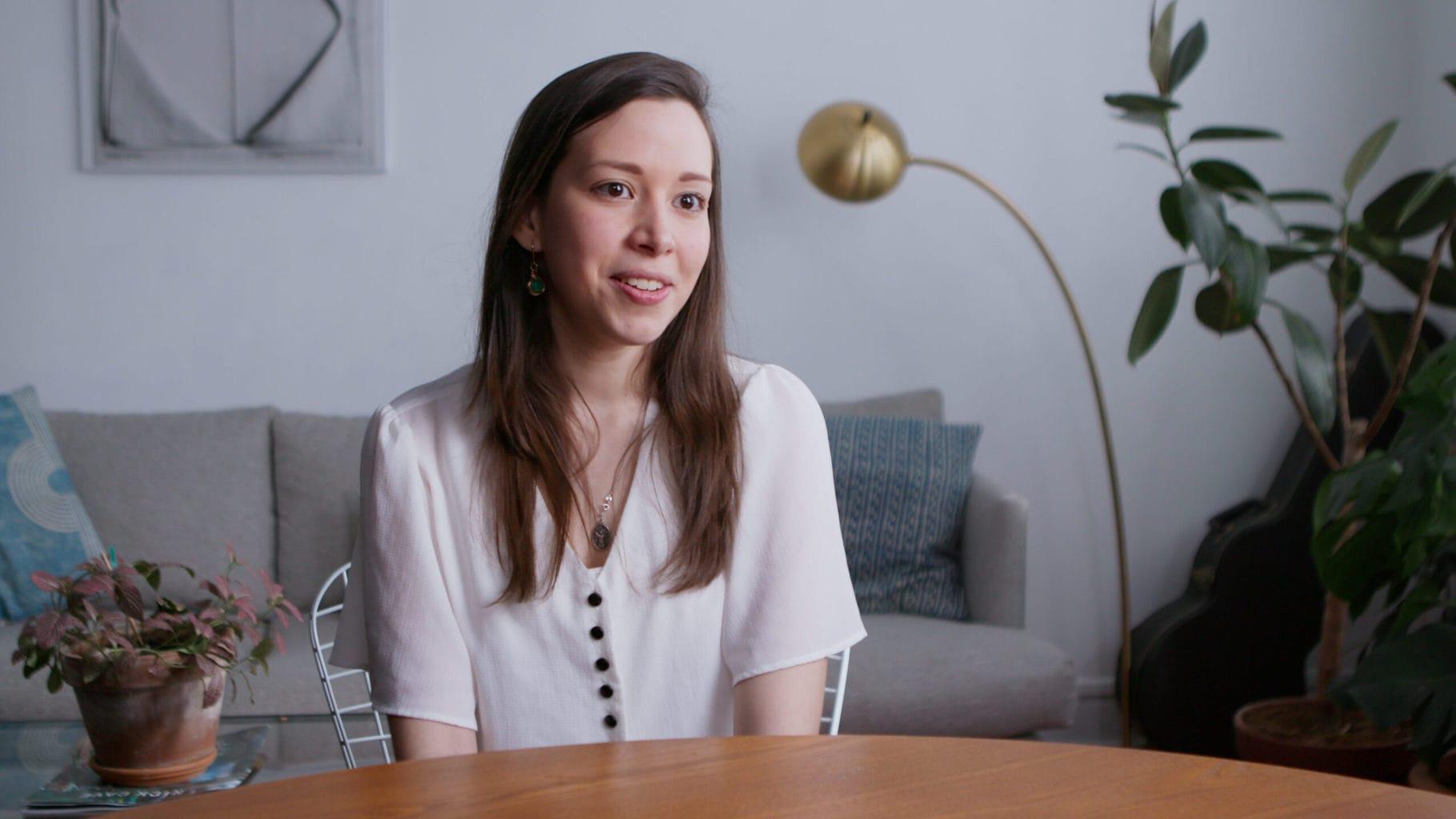 Daniela Blanco, co-founder of Sunthetics. Photo: Future of Work Film Inc.
