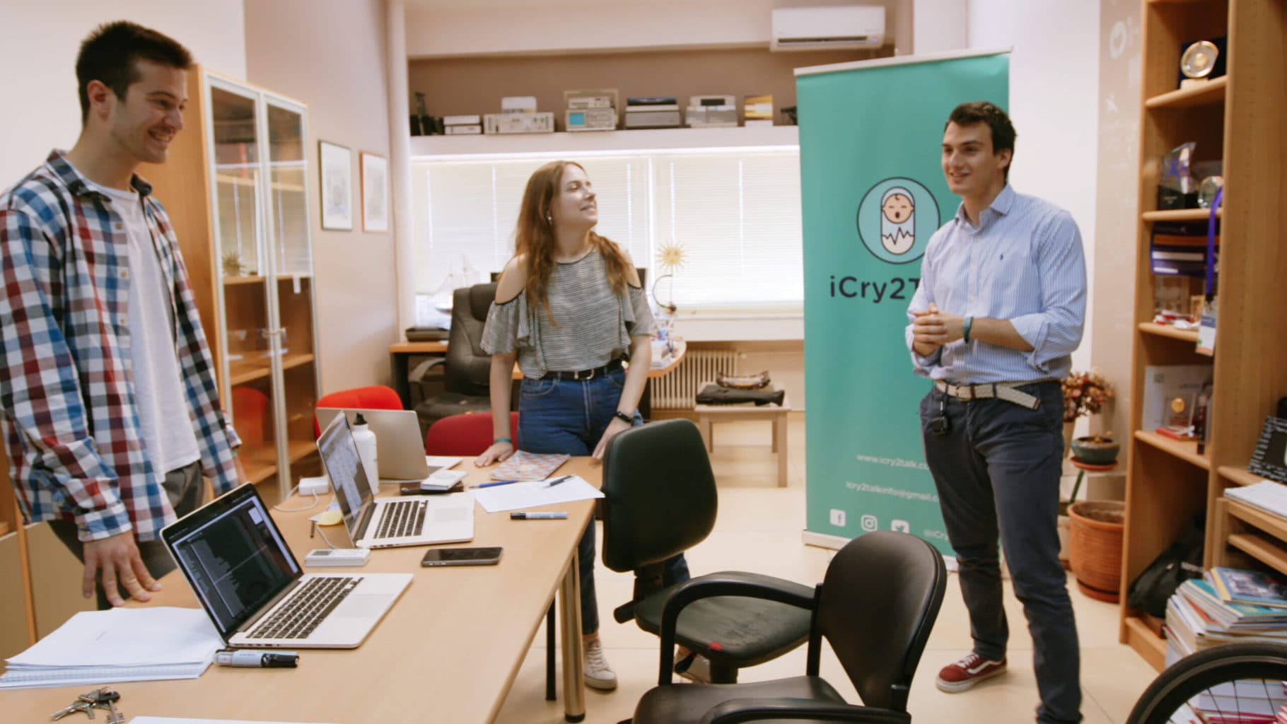 Jason Hadzikostas, co-founder of ICry2Talk. Photo: Future of Work Film Inc.