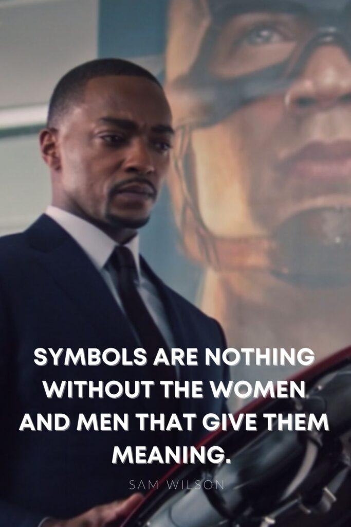sam symbols meaning quote