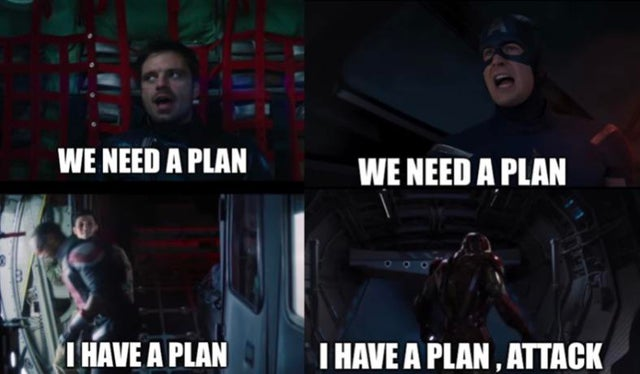 we need a plan
