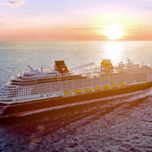 disney wish at sea