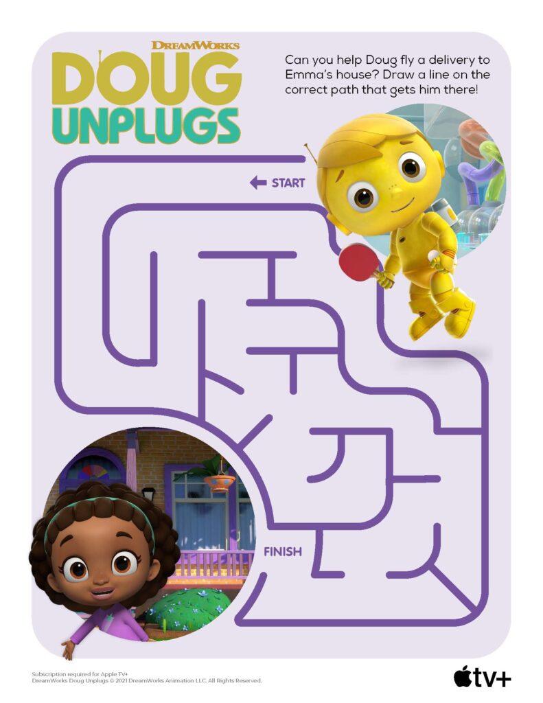 Doug Unplugs Maze