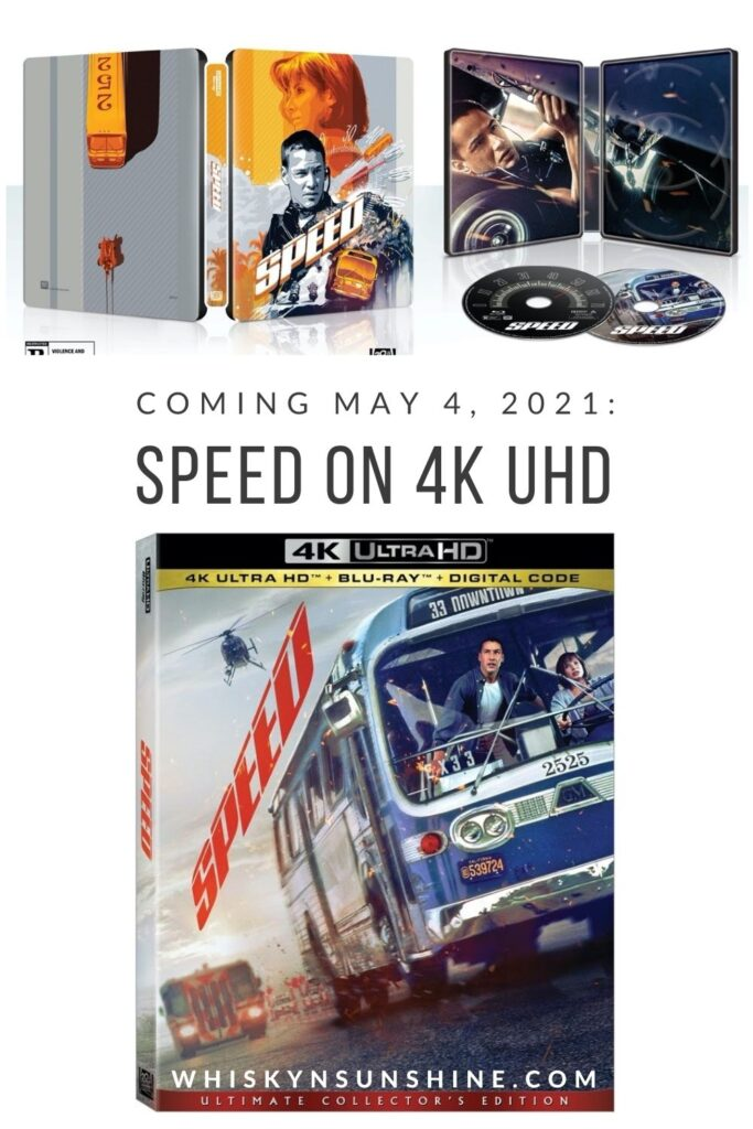 Experience the Thrills of SPEED for the First Time in 4K Ultra HD Bring Home the Ultimate Collectors Edition