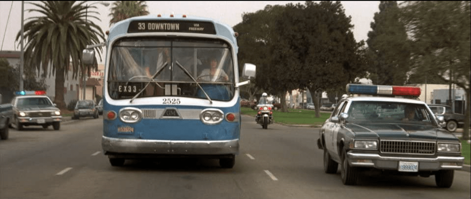 Speed bus police car 1994