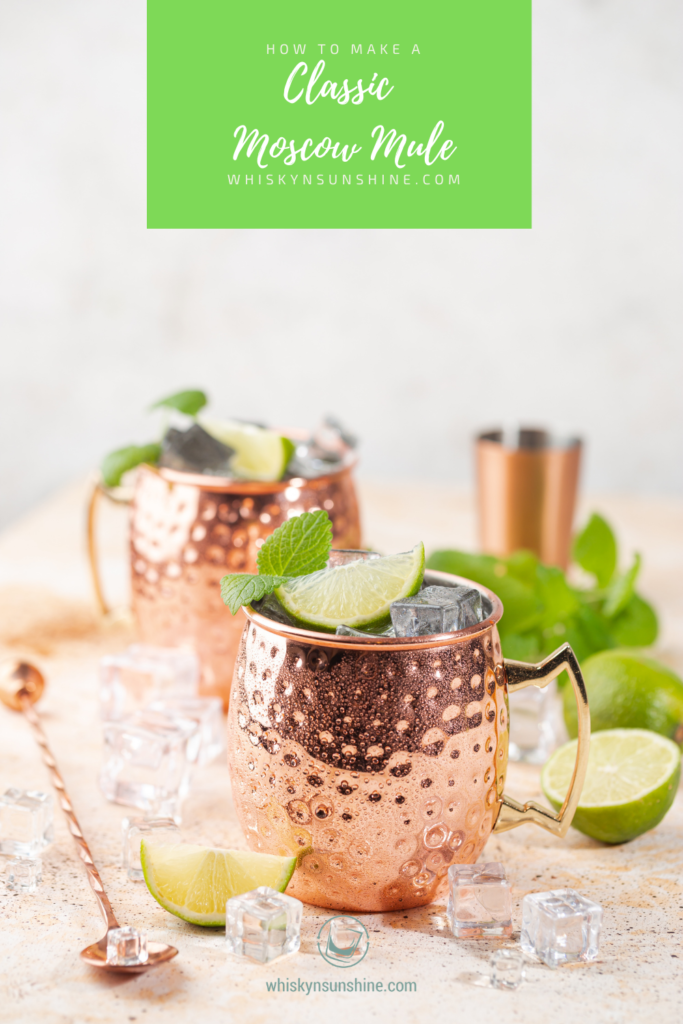 classic moscow mule pin