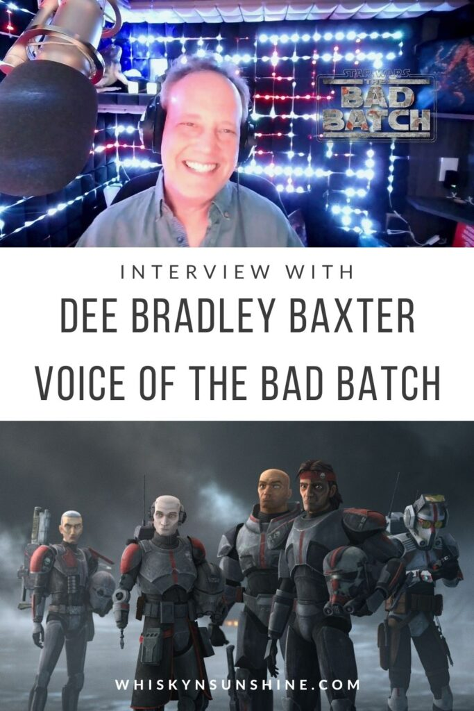 interview with dee bradley baxter voice of the bad batch star wars