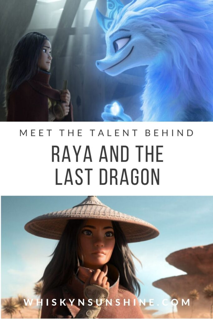 meet the talent of raya and the last dragon
