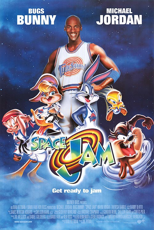 space jam 1996 poster