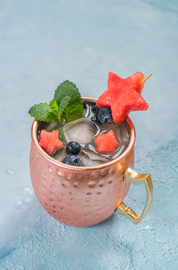 watermelon moscow mule canva pro