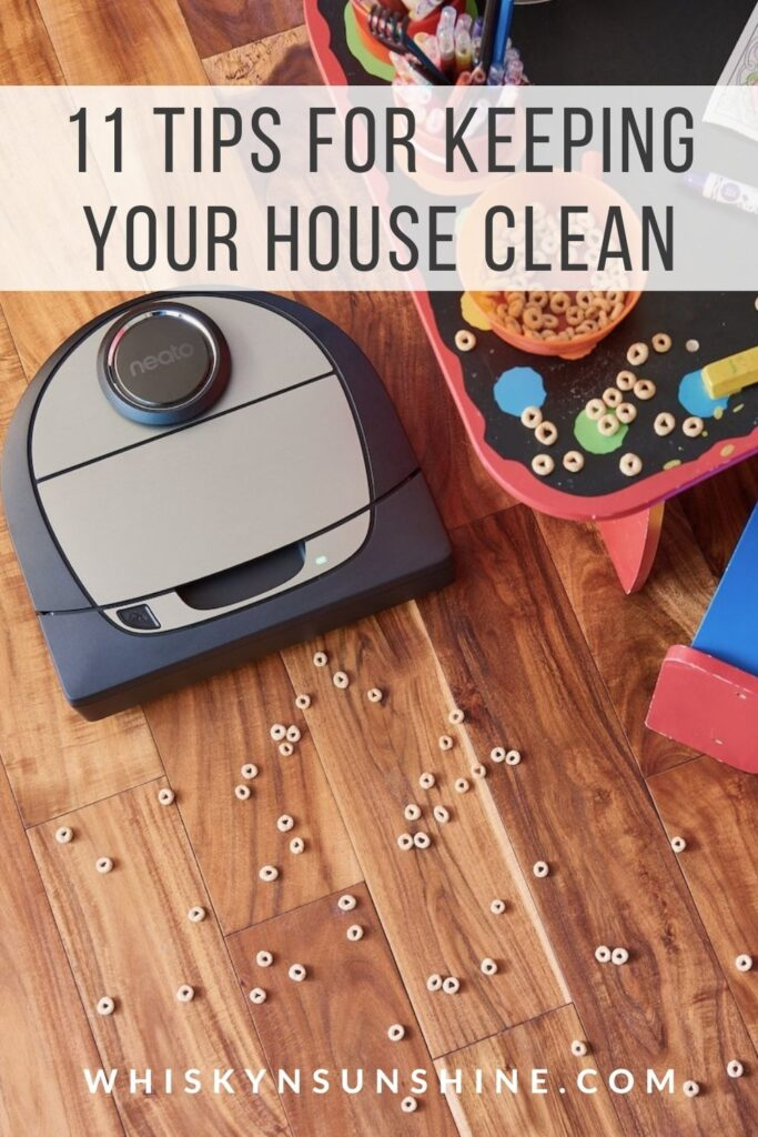 11 Tips for Keeping Your House Clean
