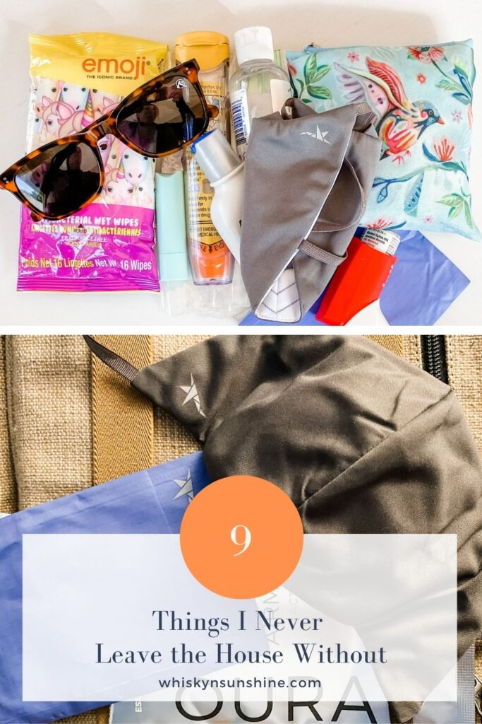 9 Things I Never Leave the House Without ouragami