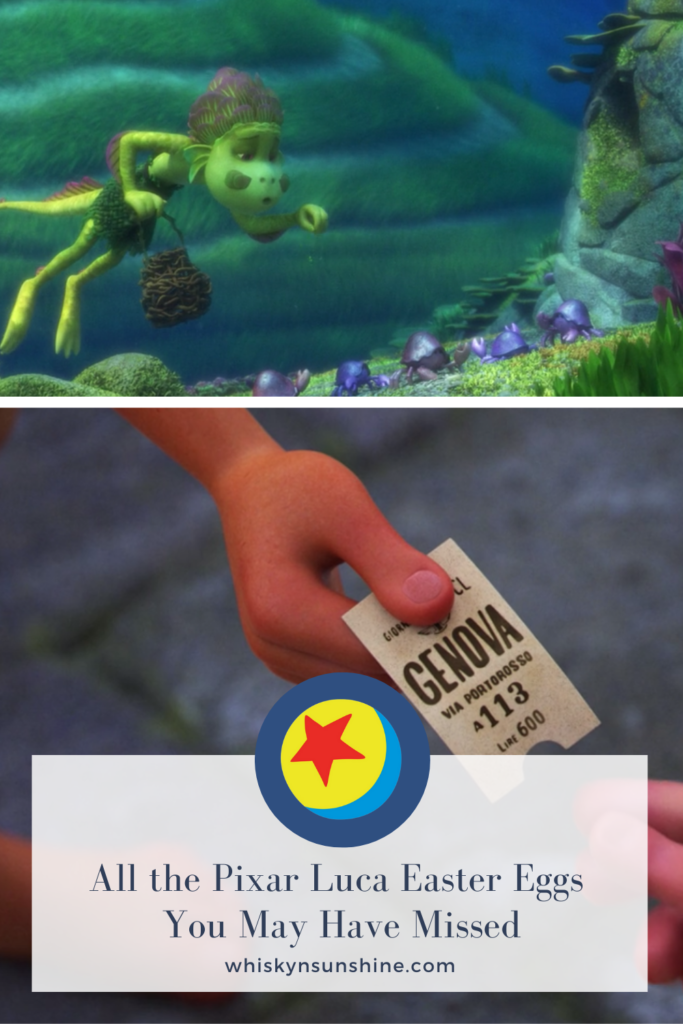 All the Pixar Luca Easter Eggs You May Have Missed