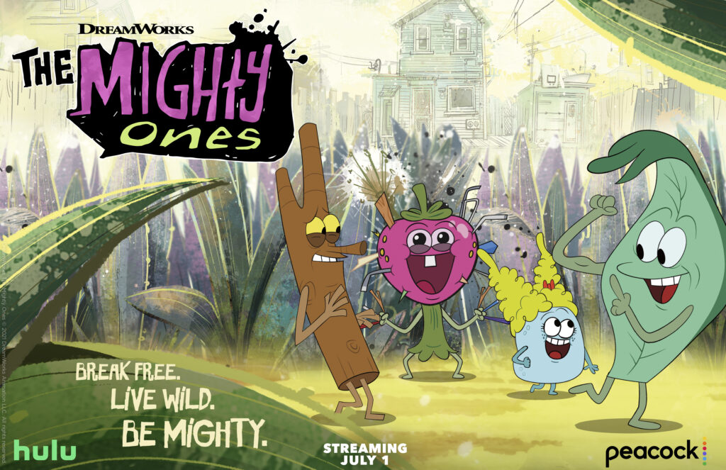 dreamworks the mighty ones