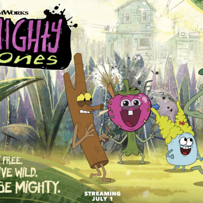 """Interview with Alex Cazares and Josh Brener of """"The Mighty Ones"""""""