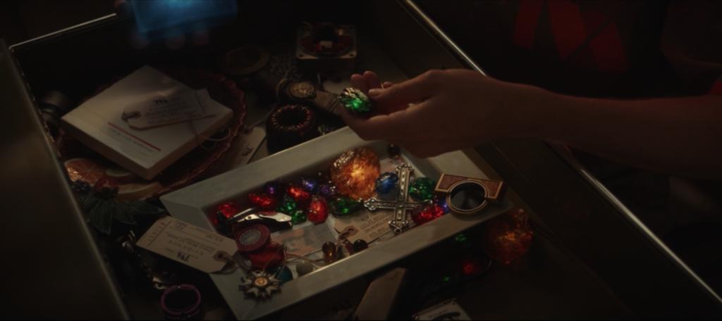 drawer of stones