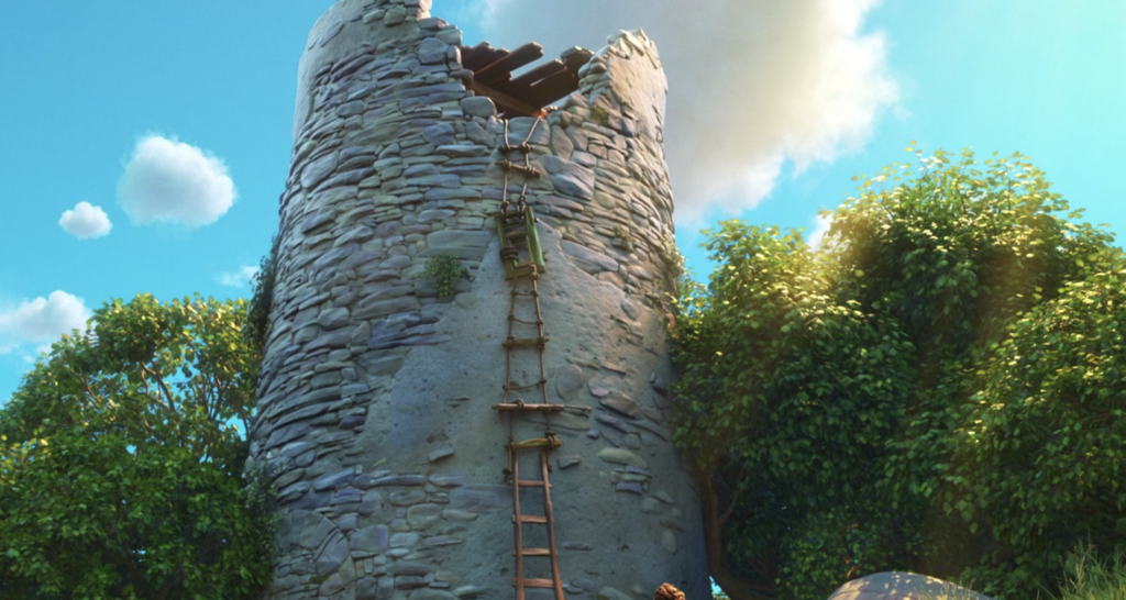 luca 1407 rapunzel tower