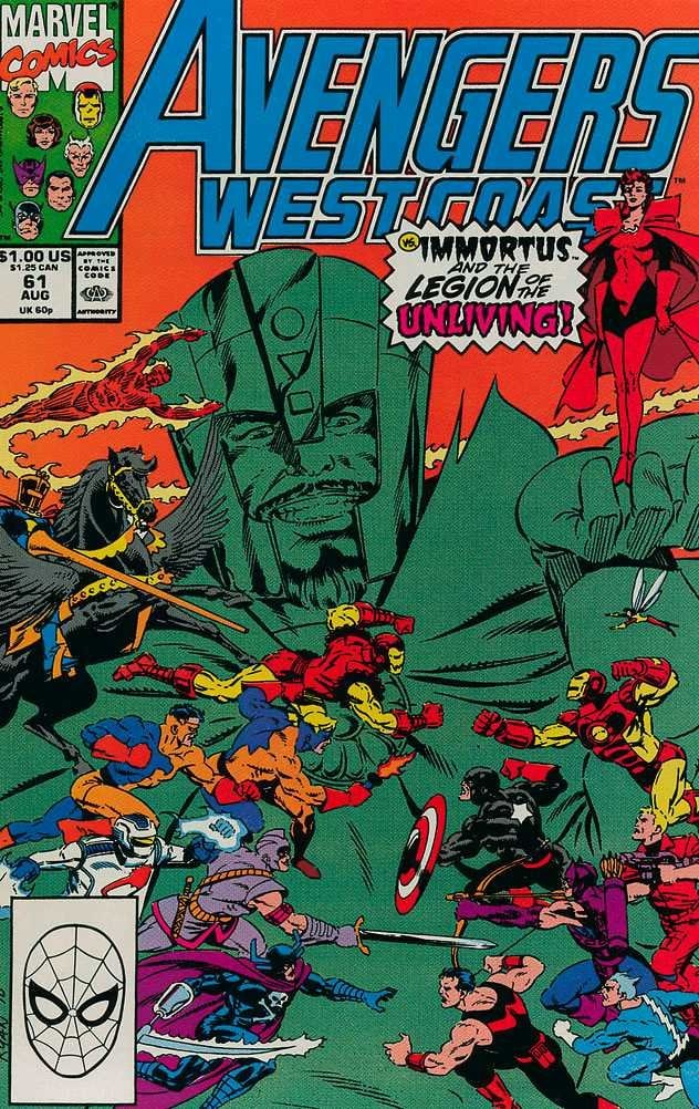 Avengers: West Coast#61