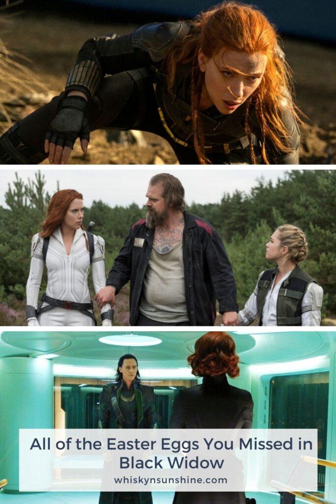 Black Widow Movie Easter Eggs