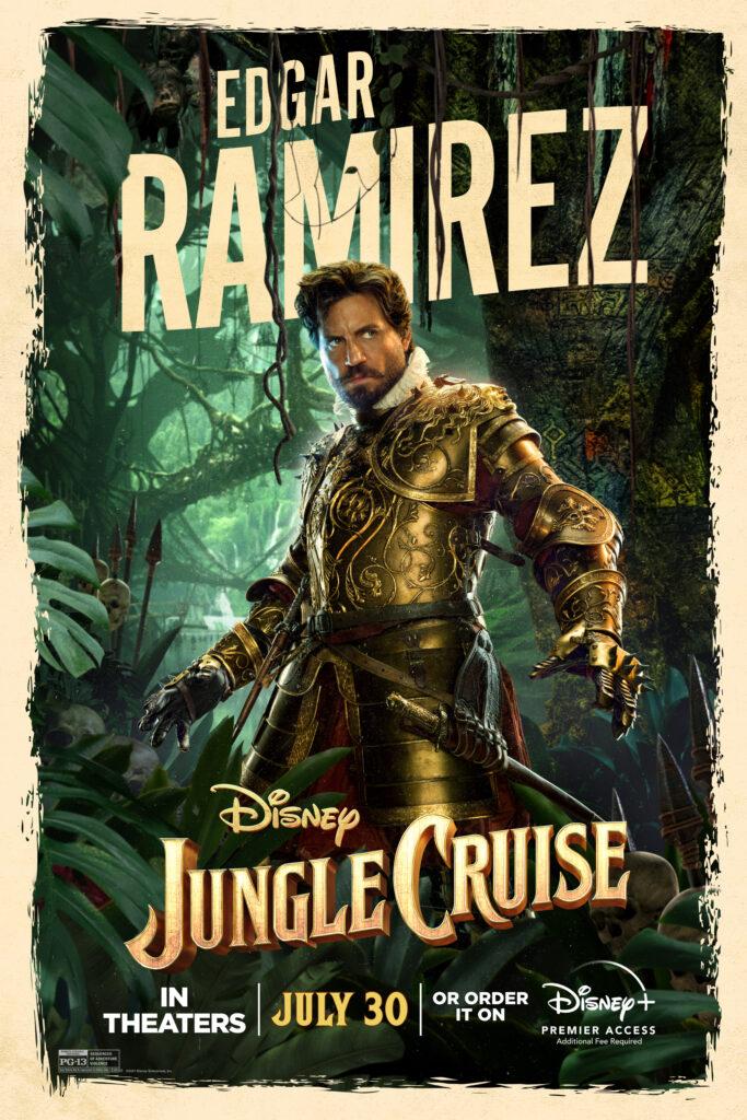 Edgar Ramirez jungle cruise interview