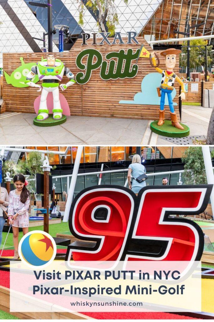 Visit PIXAR PUTT in NYC | Pixar-Inspired Mini-Golf
