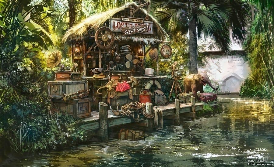 Jungle Cruise Conept Art by Luca Nemolato