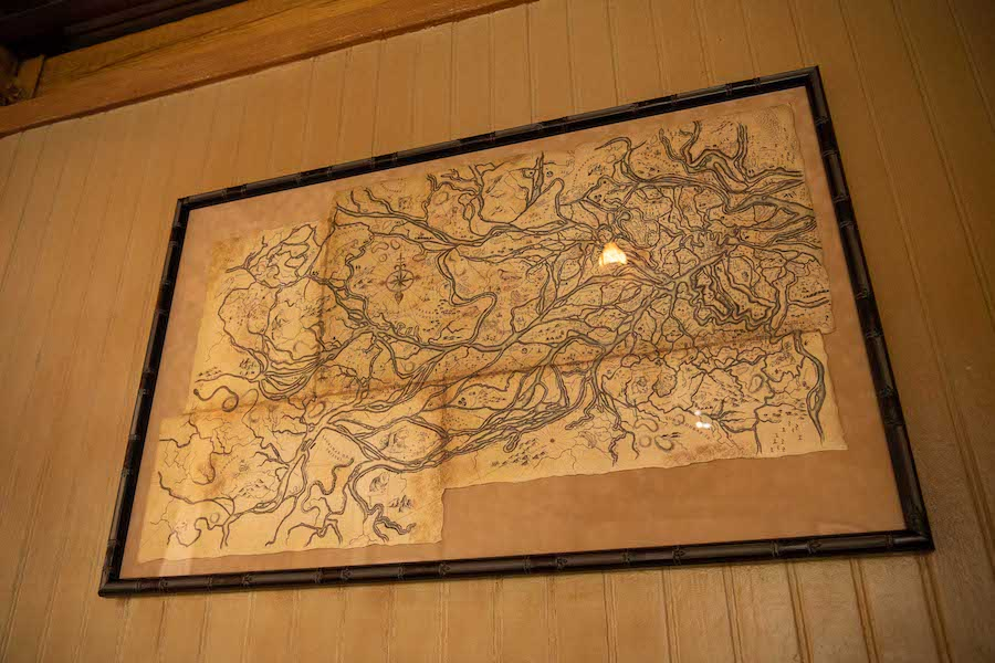 lily's map jungle cruise easter eggs