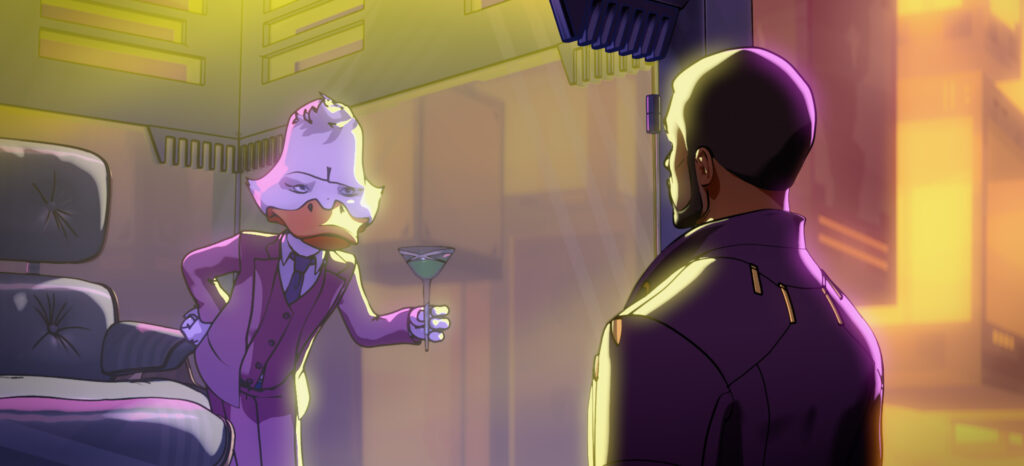 WHAT IF…? howard the duck T'challa