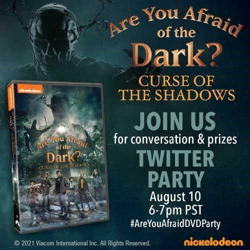 """Nickelodeon's """"Are You Afraid of the Dark?"""" Curse of the Shadows"""