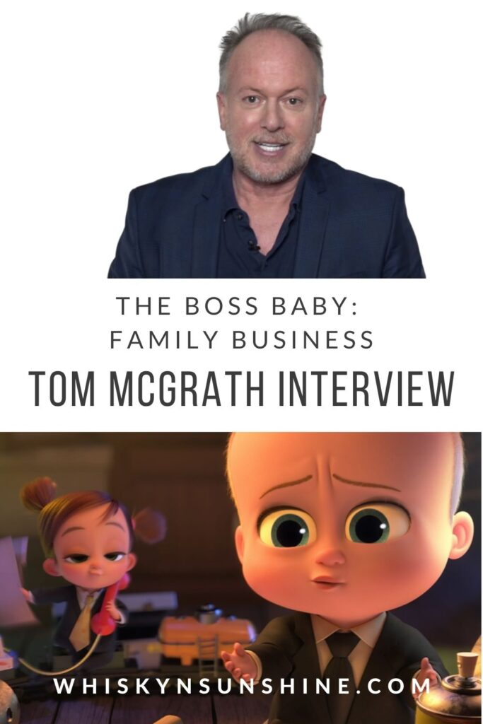 The Boss Baby Family Business Tom McGrath Interview