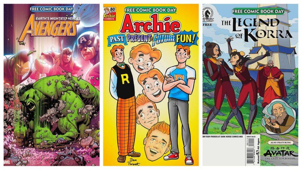 Free Comic Book Day titles