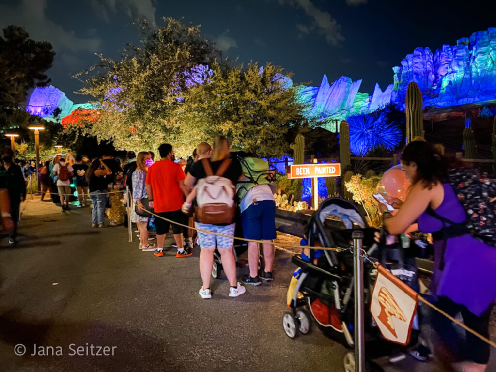 Immersive Treat Trail Line Oogie Boogie Bash