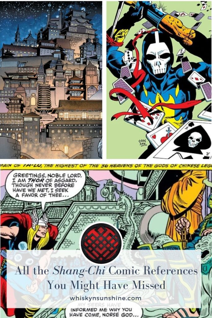 All the Shang-Chi Comic References You Might Have Missed