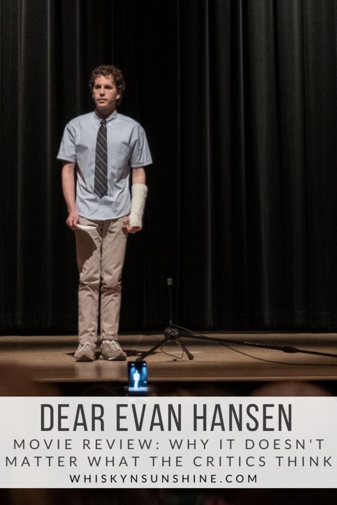 Dear Evan Hansen Movie Review - Why it Doesnt Matter What the Critics Think