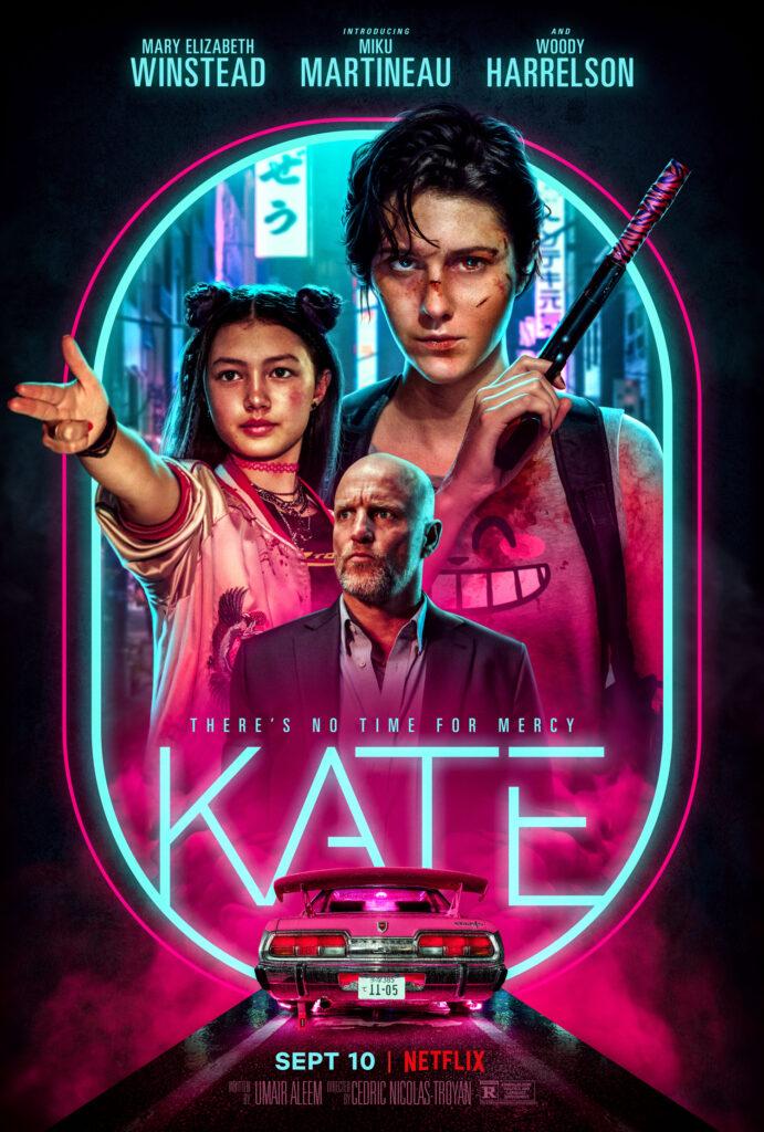 KATE poster art