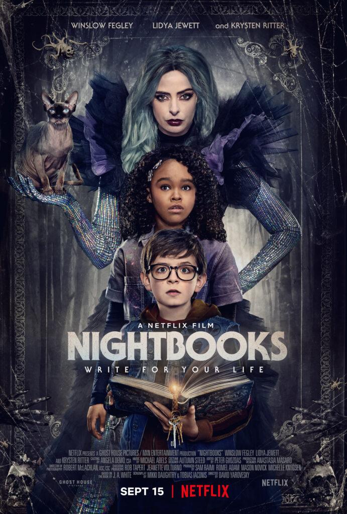 Nightbooks poster art