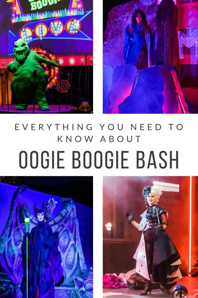 Everything you need to know about Oogie Boogie Bash at Disney California Adventure Park