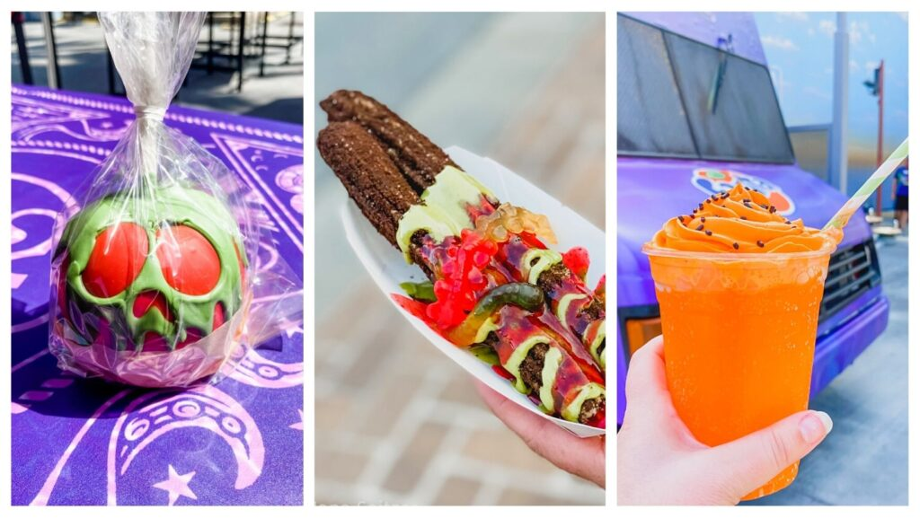 Halloween treats galore at oogie boogie bash
