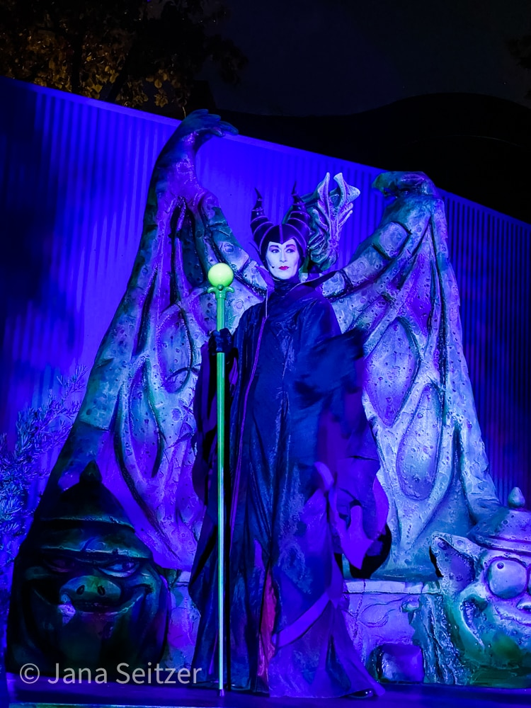 Maleficent Immersive Treat Trail Oogie Boogie Bash