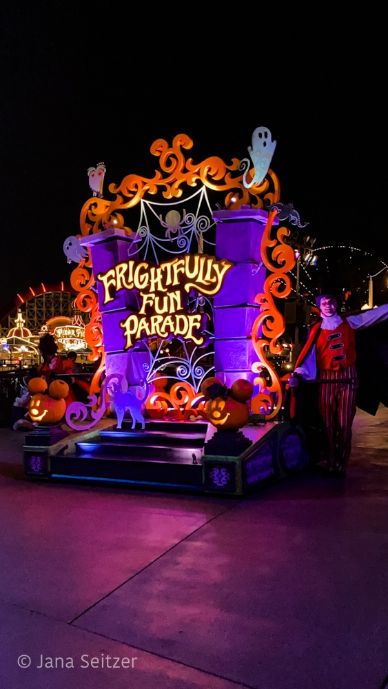 Frightfully Fun Parade Oogie Boogie Bash