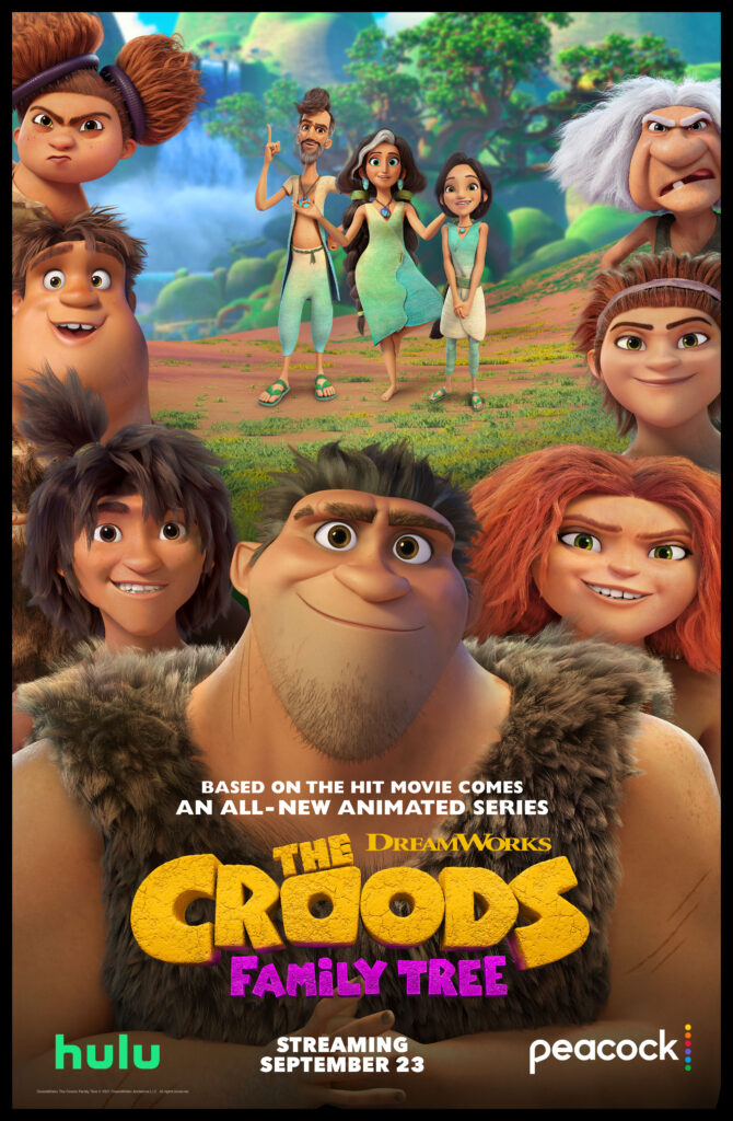 The Croods Family Tree poster