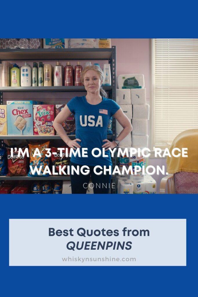 best quotes queenpins racewalking