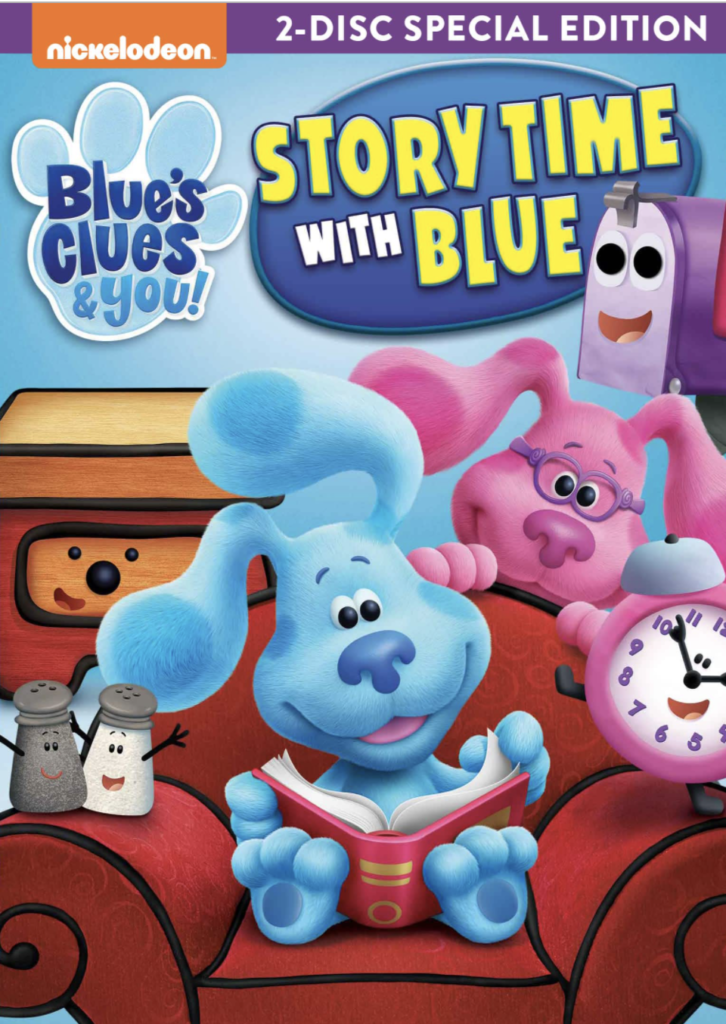 blues clues and you story time with you