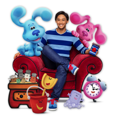 Celebrate 25 Years of Blue's Clues with Blue's Clues & You! Story Time with Blue!